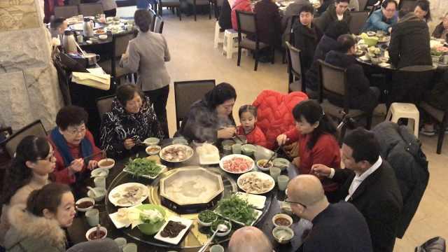 冬至啦!市民:饺子配羊肉越吃越有