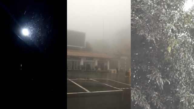 跳起脚的惊喜!重庆主城多区迎降雪