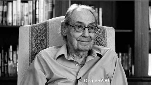 迪士尼元老制作人逝世,享年105岁
