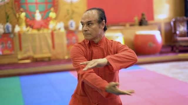 爱中国,这位墨西哥人苦习武术50年