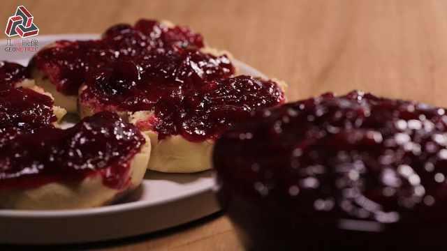 美味来袭,自制奶香面包和蔓越莓酱
