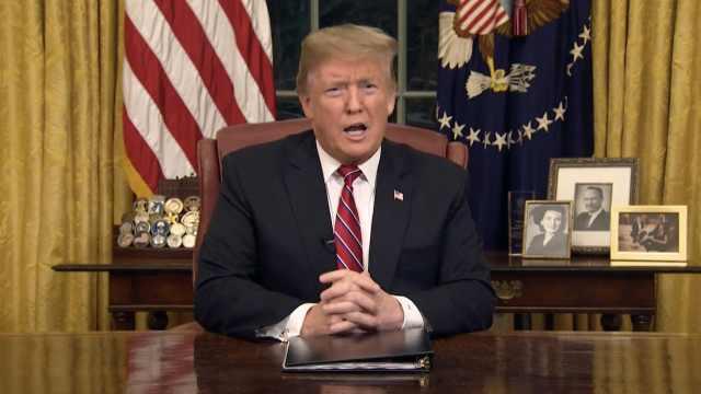 川普电视讲话:建墙是因为爱墙内人