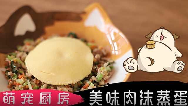 萌宠厨房|宠物美食DIY:肉沫蒸蛋