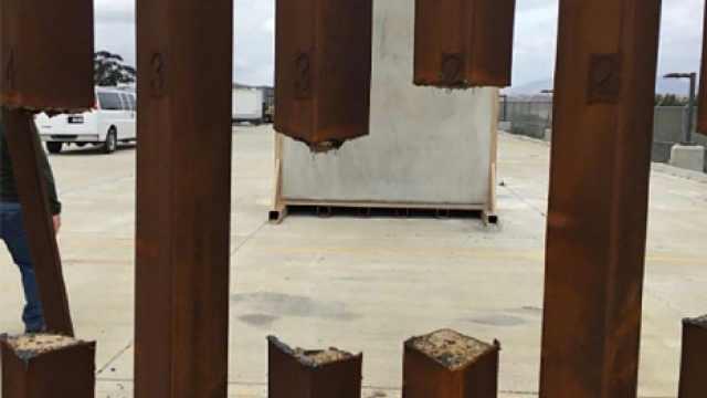 特朗普口中坚硬的边境墙一锯就断?