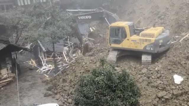 广西一景区山体滑坡,失联者被找到