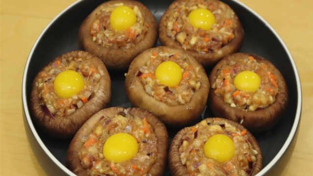 香菇加鹌鹑蛋,这样做太好吃了