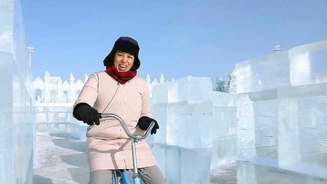 老外玩转哈尔滨冰雪大世界