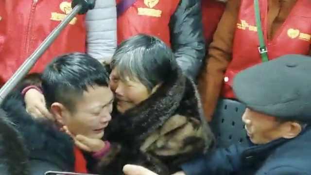 儿5岁被拐母哭瞎双眼,34年后终团聚