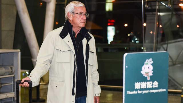 谢绝采访和送行,里皮低调离开中国