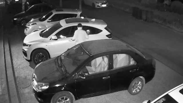 小伙砸车盗窃,还报警挑衅:来抓我啊