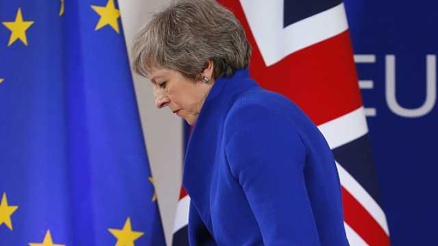 梅姨被派去重谈协议,欧盟:不可能