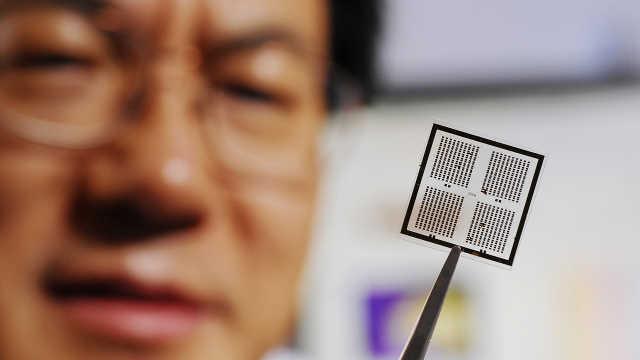 世界上最小的发电机——纳米发电机