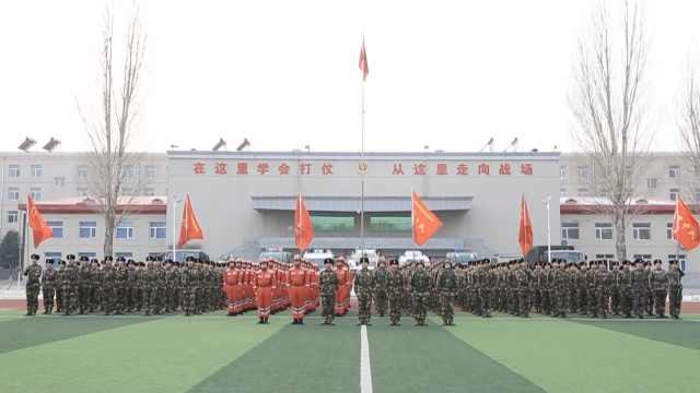 为保人民安康,战士部队过20个春节