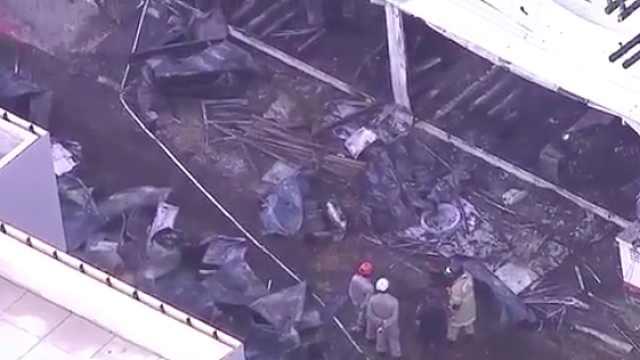 巴西一足球俱乐部训练中心火灾10死