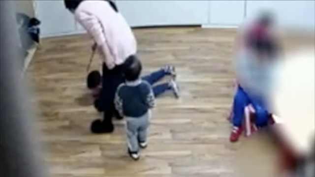 意华人幼儿园被曝虐童,两教师被捕