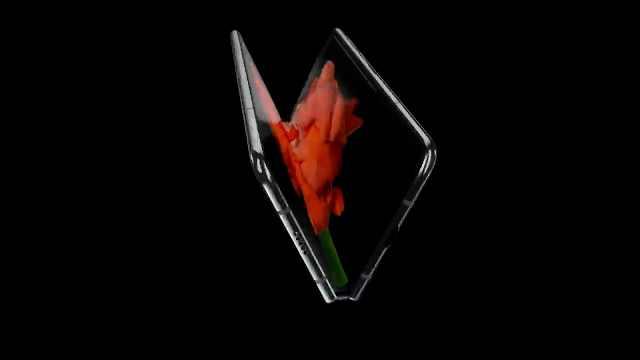 三星发布首款折叠屏手机:13000起售