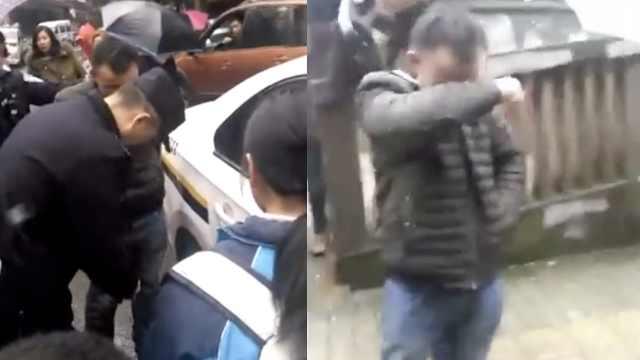 男子拦女孩看不雅视频,被误当人贩
