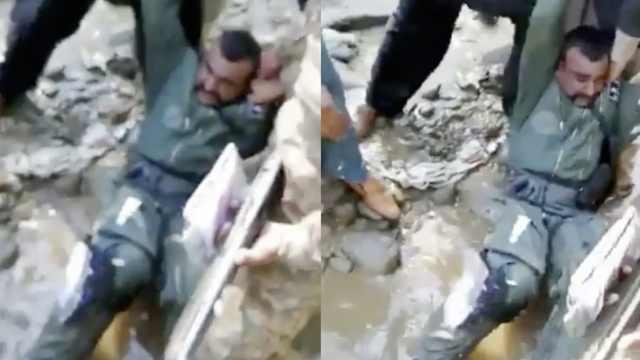 印度飞行员在巴被抓全程视频曝光