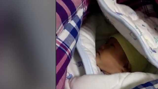 猛犸视频丨女婴被遗弃郑州火车站