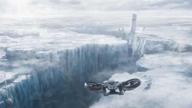 流浪地球特效团队解析如何冰封上海