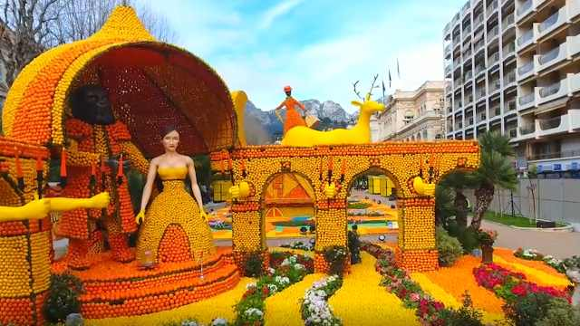 全球最酸的节日,要用掉130吨柠檬