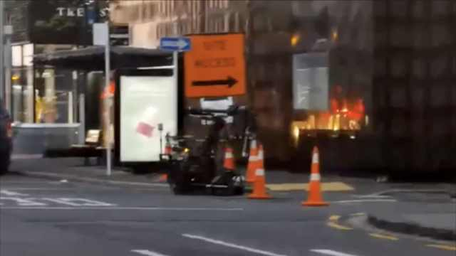 枪击案后新西兰一火车站发生爆炸