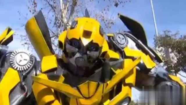 """街头惊现""""大黄蜂"""",很受欢迎!"""