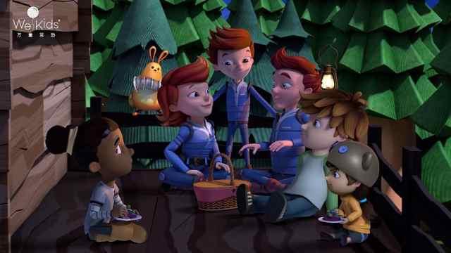 杰特和家人在太空唱起了好听的歌