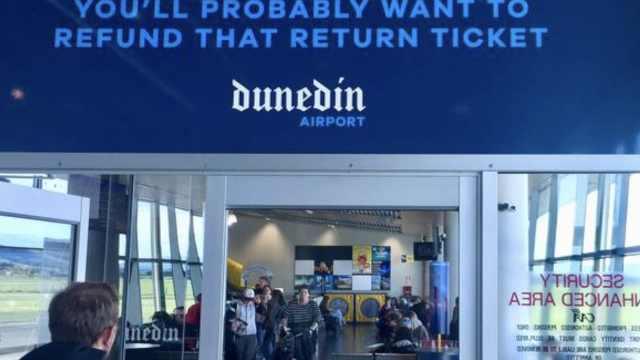 新西兰机场现可疑包裹,拆弹组赶赴