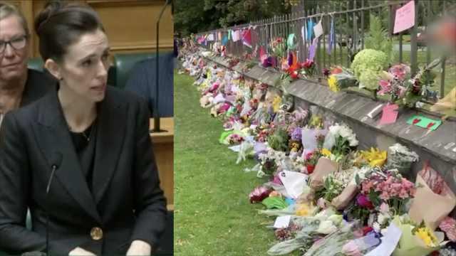 新西兰总理发誓:永不提及枪手姓名