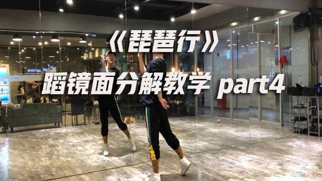 《琵琶行》舞蹈镜面分解教学part4