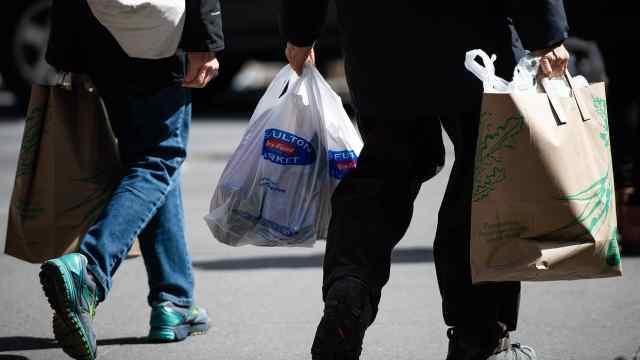 明年3月起纽约州将禁止使用塑料袋