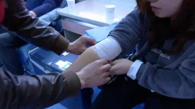 """血站否认""""熊猫血学生献血被多抽"""""""