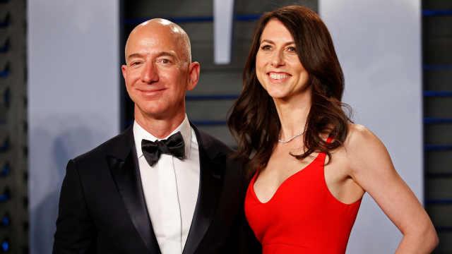 首富离婚:贝索斯前妻分走360亿美元