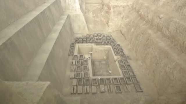 最大古墓再开挖,或出土兵马俑前身