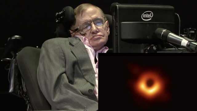 霍金珍贵口述:黑洞通往另一个宇宙
