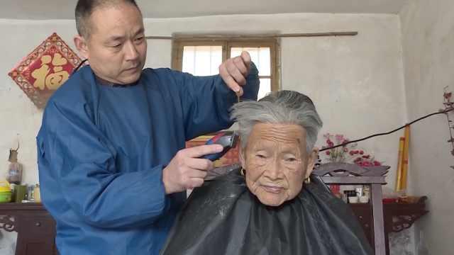 他开理发店5元不涨价:都是老顾客