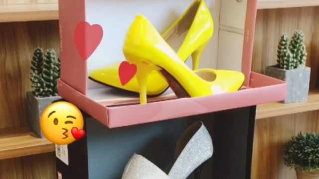 自制简易鞋柜