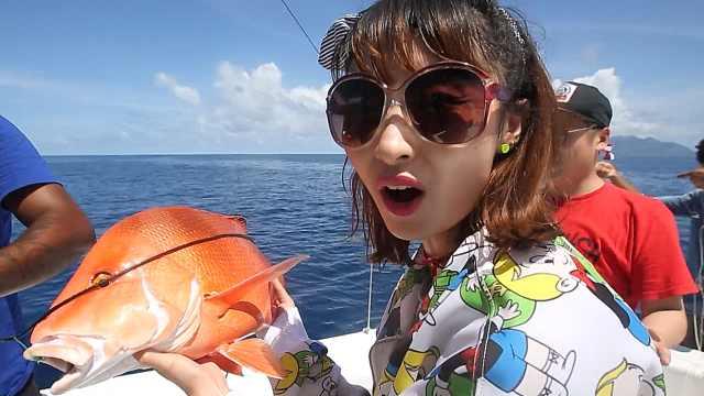 在印度洋上垂钓是一种什么感觉?