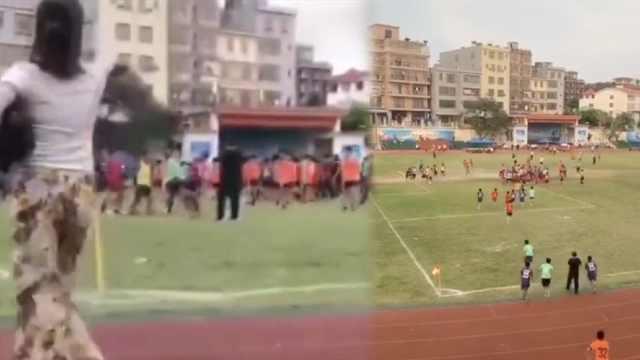曝海南高中联赛爆发群殴,多人受伤