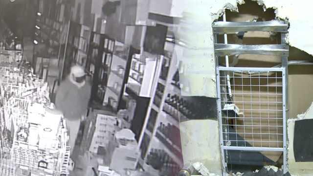 男子挖洞偷烟,见店主未补反复盗窃