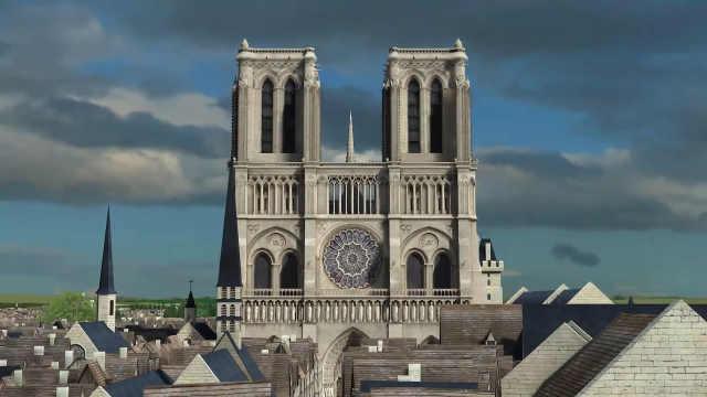 3D复原巴黎圣母院:从无到有两百年