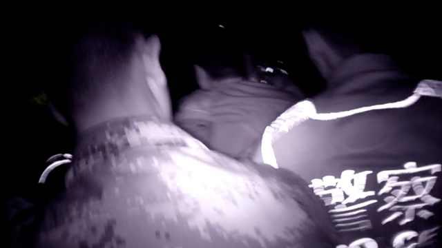 醉驾男逆行狂逃200米,被武警生擒