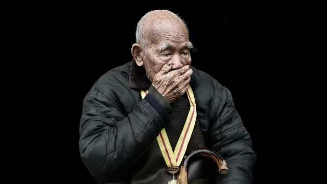 湖南抗战老兵向德兴去世,享年103岁