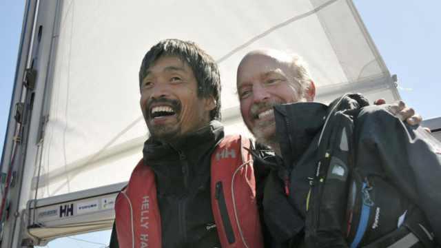 日本全盲水手成功无靠岸横渡太平洋