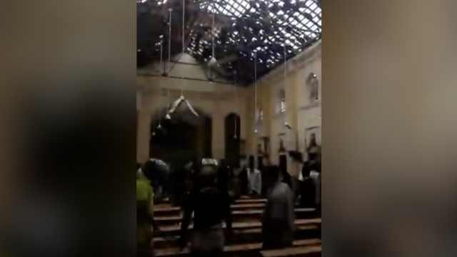 斯里兰卡发生6起爆炸,超40人死亡