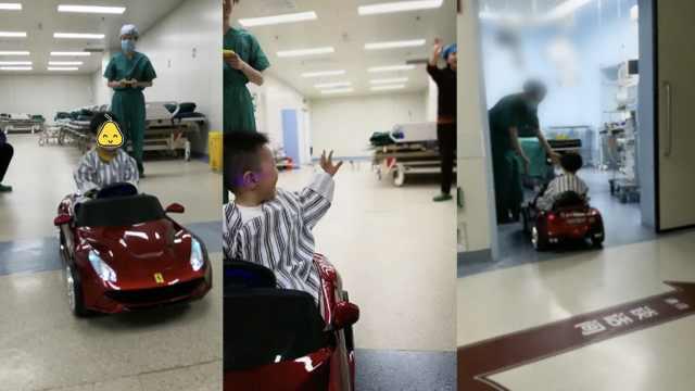 小患者怕进手术室,医院