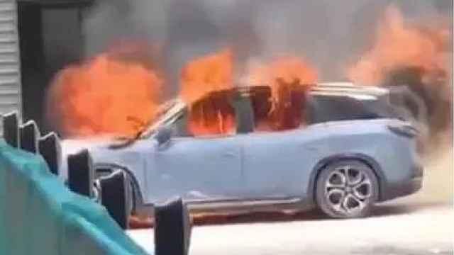 蔚来公布自燃结果:电池遭撞击短路