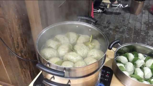 复原传统蒿蒿馍馍:天然食材加药材