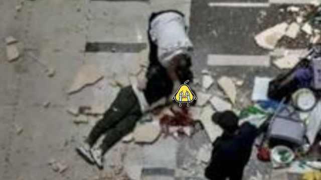 无锡一商场瓷砖掉落,砸中路人致伤